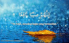 Doa Anak Muslim Doa Ketika Turun Hujan Dalam Bahasa Arab