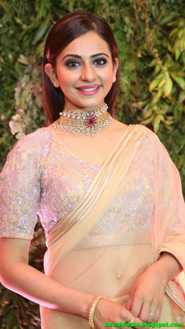 Rakul Preet Singh Latest Saree Photos
