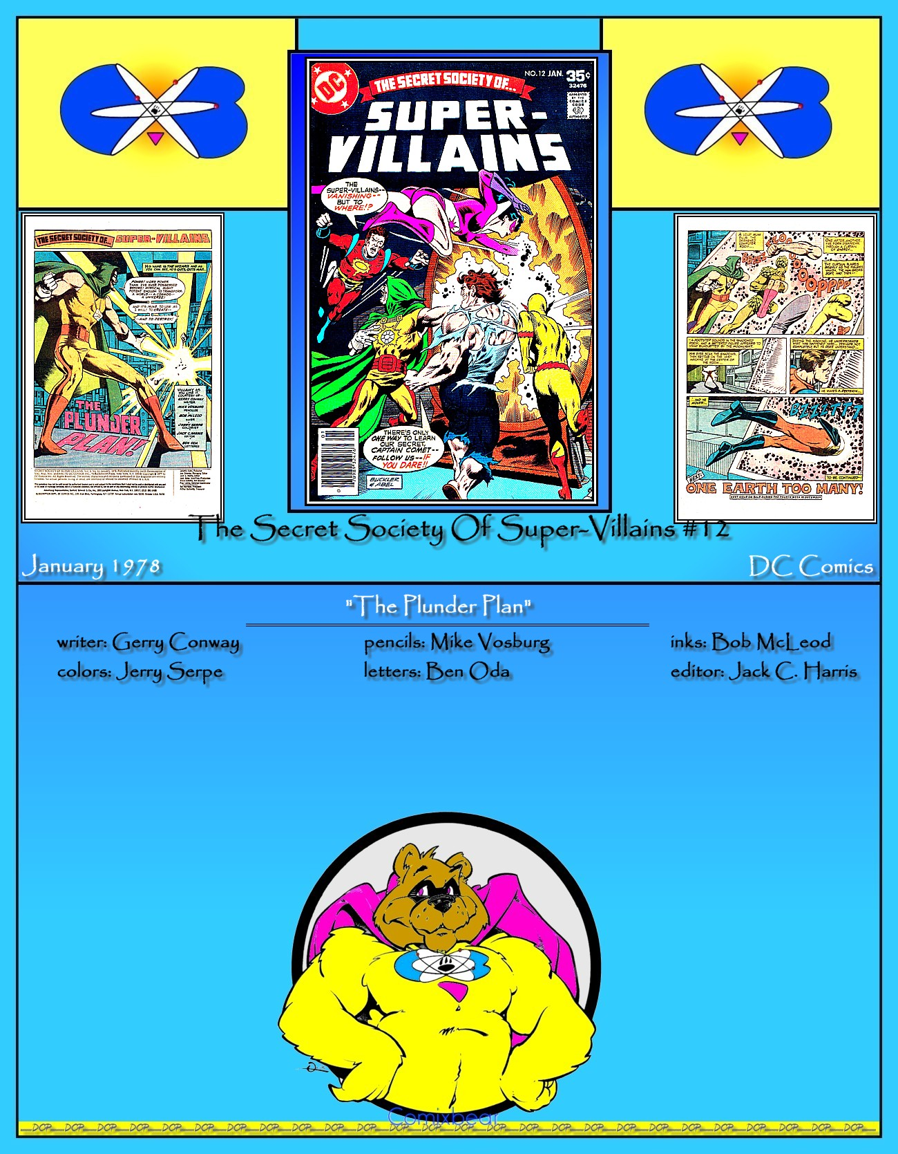 Read online Secret Society of Super-Villains comic -  Issue #12 - 37