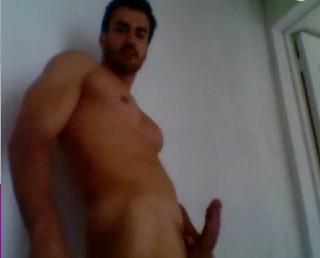 David Zepeda masturbándose