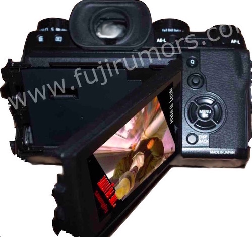Задняя панель Fujifilm X-T2