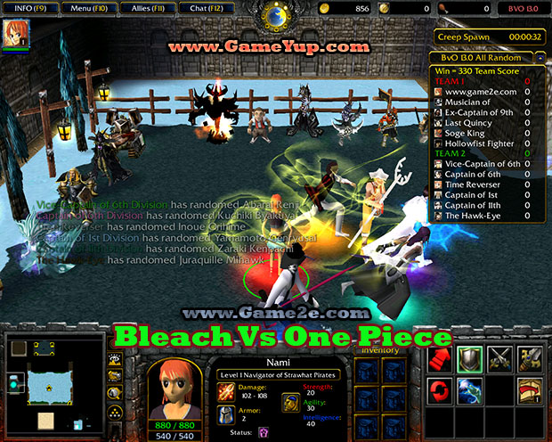 [New release] bleach vs one piece 7.1 a. map free download