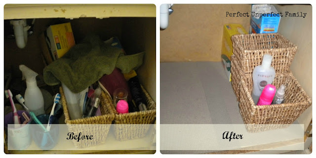 31 Days of Declutter - Day Five - Under the Bathroom Sink