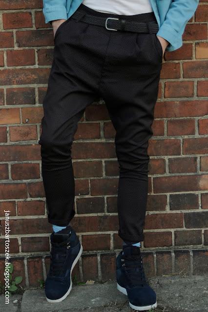 męskie spodnie calliope