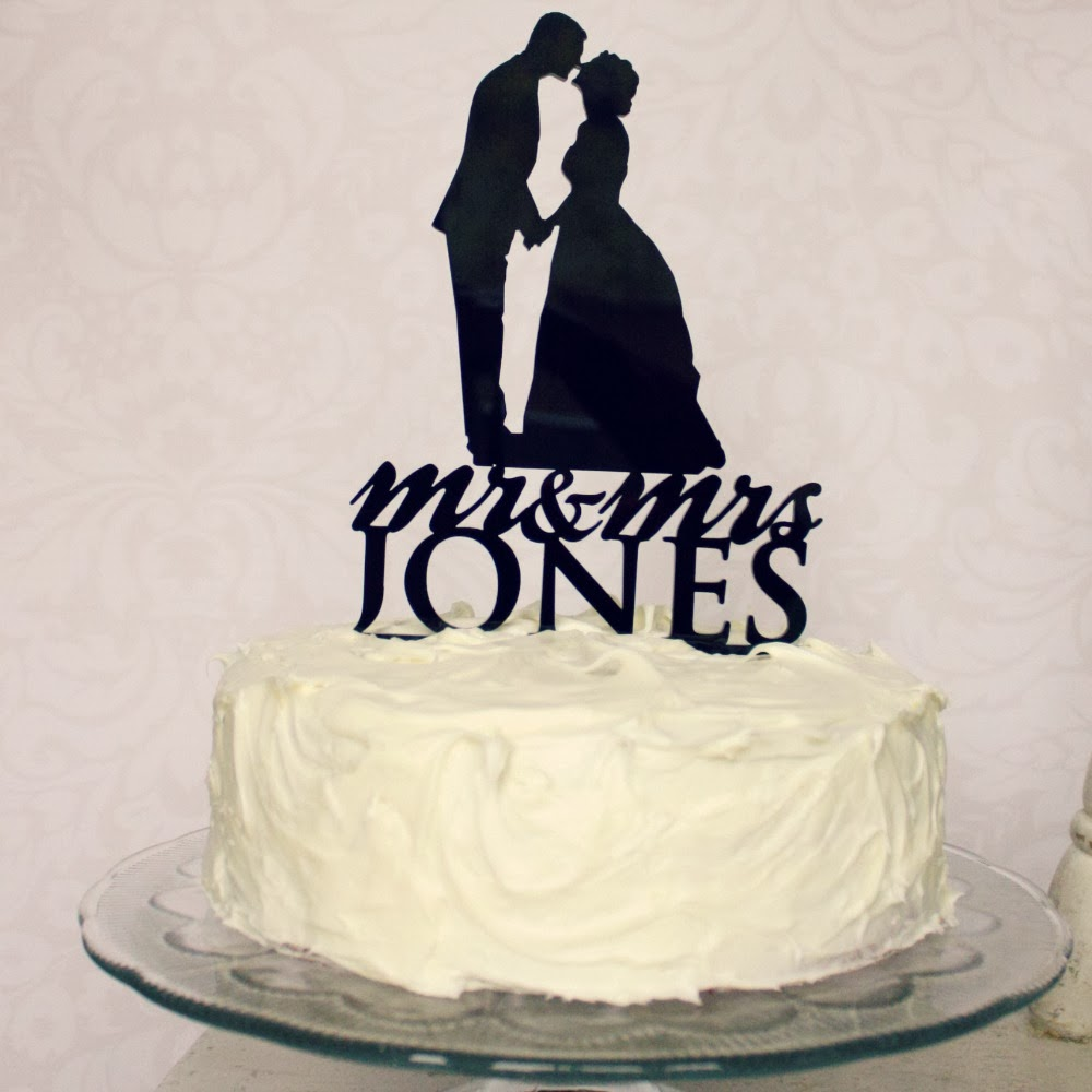 Wedding Dress Cake Topper
