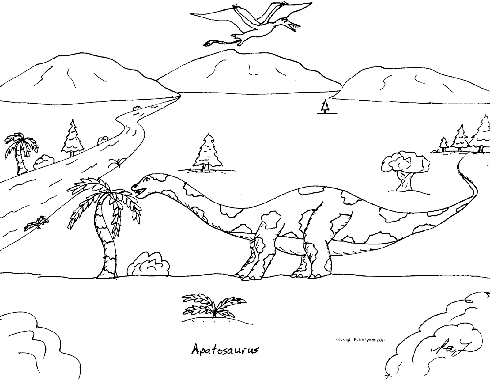 robin u0027s great coloring pages biggest dinosaurs the sauropods
