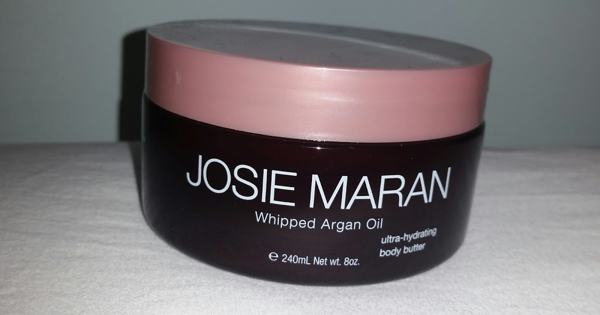 my makeup issues josie maran whipped argan oil ultra hydrating body butter in vanilla apricot. Black Bedroom Furniture Sets. Home Design Ideas