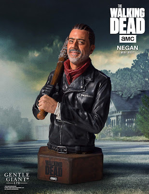 San Diego Comic-Con 2017 Exclusive The Walking Dead TV Series Negan Mini Bust by Gentle Giant
