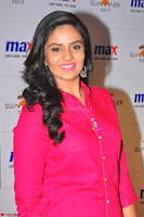 Sree Mukhi in Pink Kurti looks beautiful at Meet and Greet Session at Max Store (31).JPG