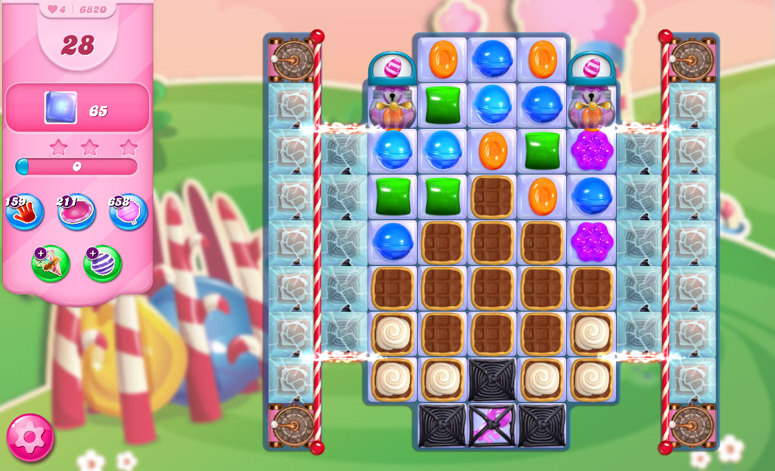 Candy Crush Saga level 6820