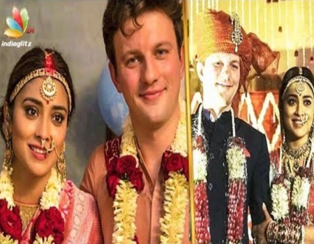 Shriya Saran Married for the Second Time to Andrei Koscheev | Celebrity Wedding