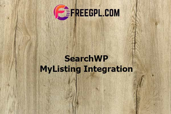 SearchWP MyListing Integration Nulled Download Free