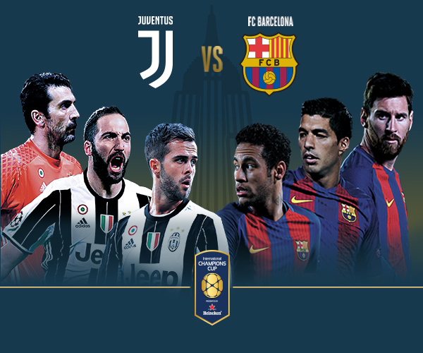 Juventus F.C. vs. FC Barcelona Full Match 22 July 2017 ...