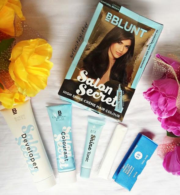 Bblunt salon secret hair color review natural brown for B blunt salon secret hair colour price