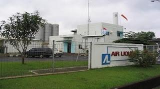 pabrik PT. Air Liquide Indonesia cibitung