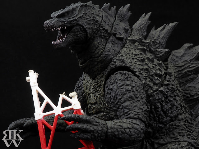 BANDAI S.H. MonsterArts ゴジラ 2014