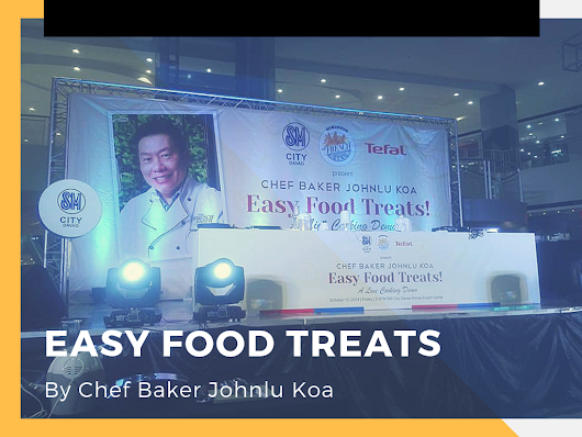 Easy Food Treats: A Live Cooking Demo with Chef Baker Johnlu Koa in Davao - PAL RAINE