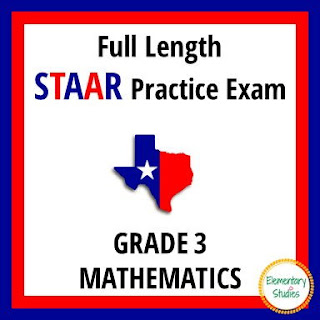 STAAR Math Practice Test for 3rd Grade