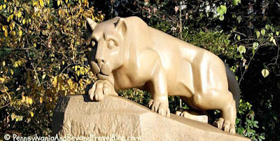 Nittany Lion Shrine in State College Pennsylvania