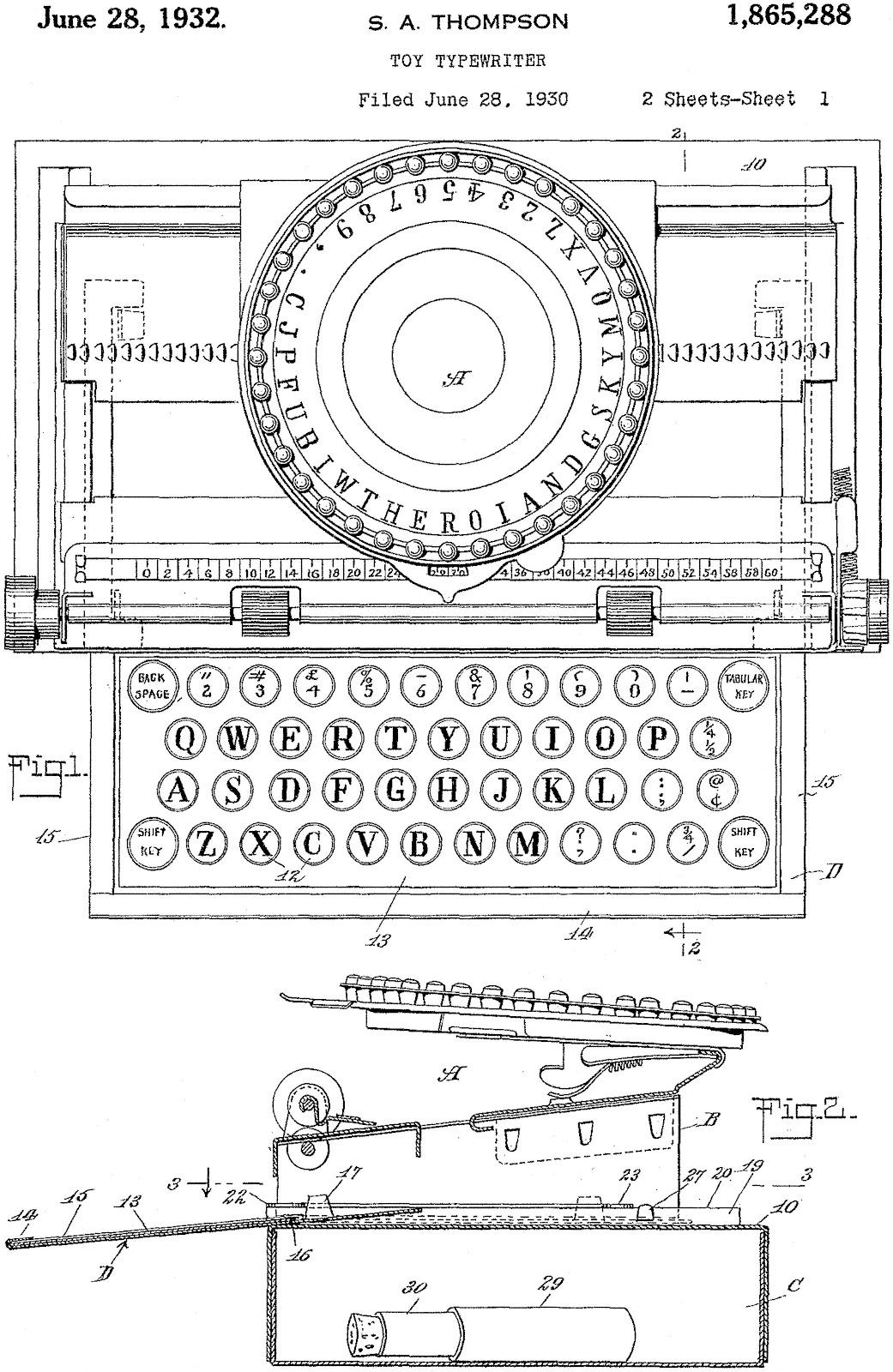 oz.Typewriter: The Simplex Typewriter: Glorious Simplicity!