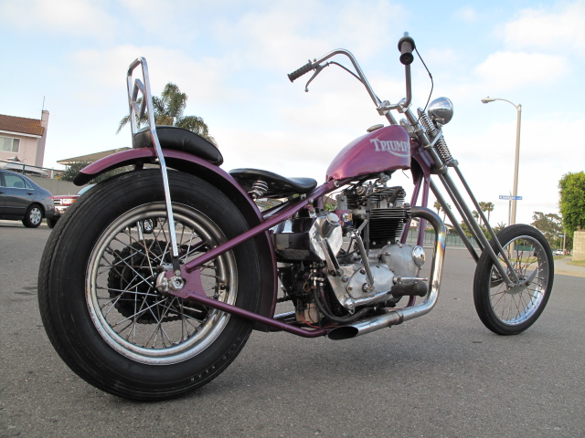 cycle zombies blog: for sale 68 triumph chopper