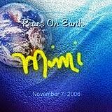 Mimi Lenox peace globe, the first peace globe