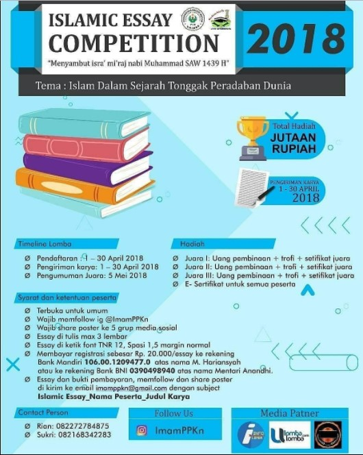 Lomba Islamic Essay Competition 2018 UNIMED