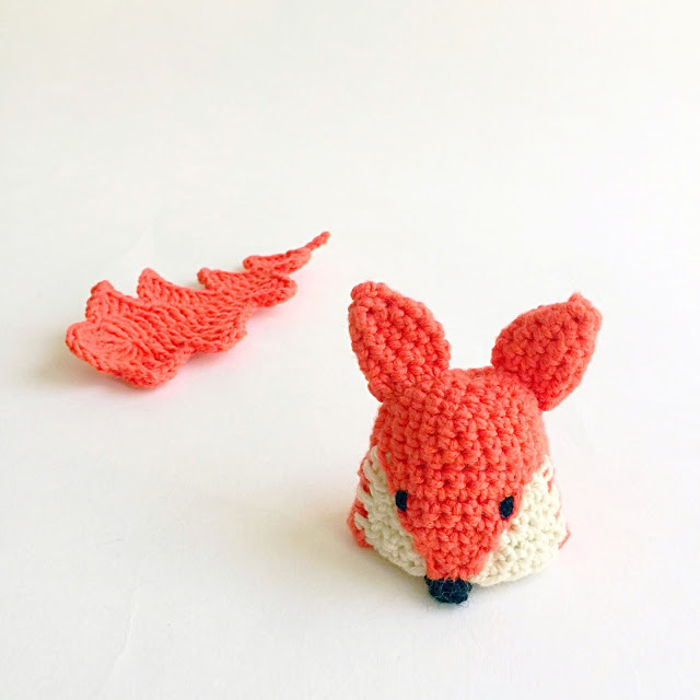 petit bonnet renard au crochet