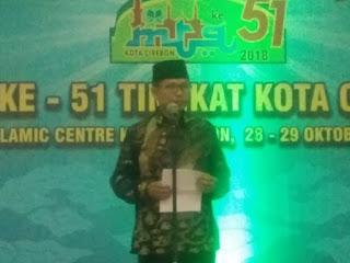 MTQ Ke 51 tahun 2018 Tingkat Kota Cirebon Resmi Di Tutup Oleh Sekda Kota Cirebon