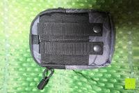 Rückseite: Greatlizard Außen multifunktionale Nylon taktische Tasche stark und dauerhaft im Freien Armee taktische Taschen (schwarz Python-Muster)