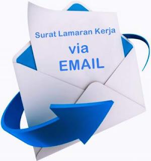 cara mengirim surat lamaran kerja via email