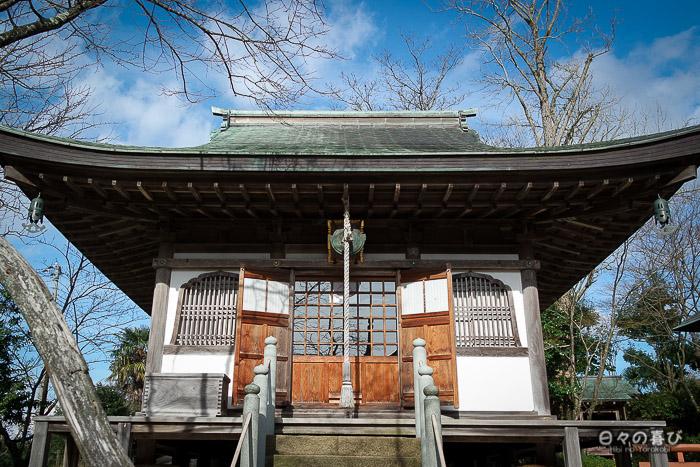 pavillon temple daijoji contreplongée