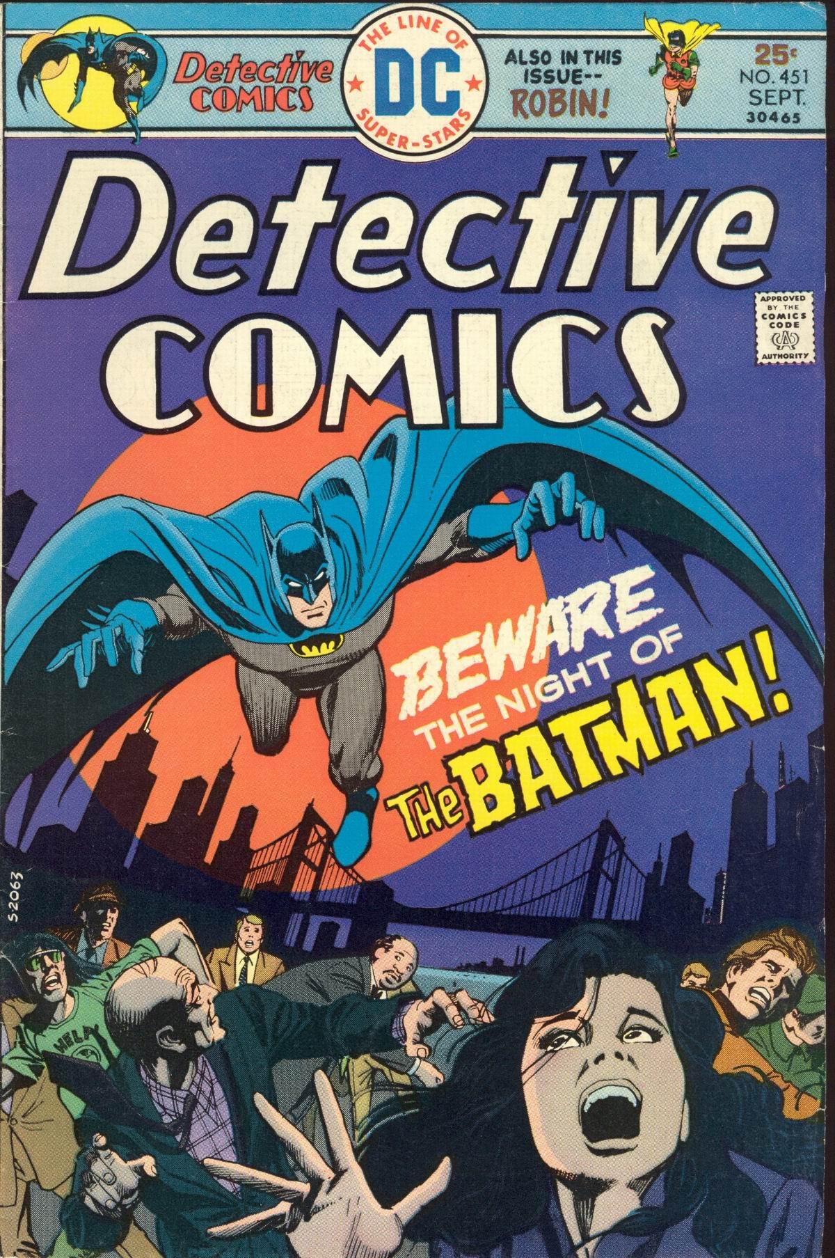 Detective Comics (1937) 451 Page 0