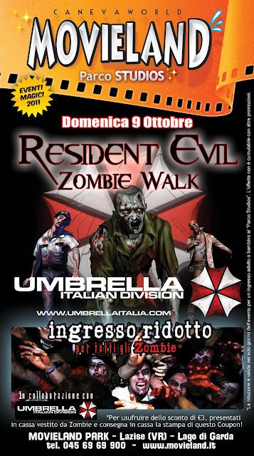 Zombie Walk a Movieland: 9 ottobre 2011