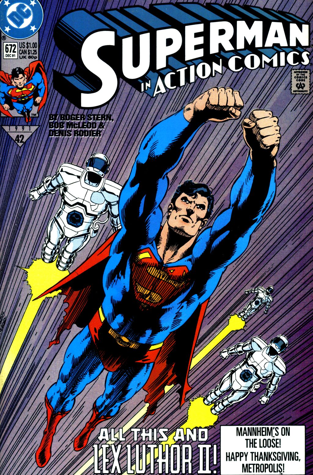 Action Comics (1938) 672 Page 0