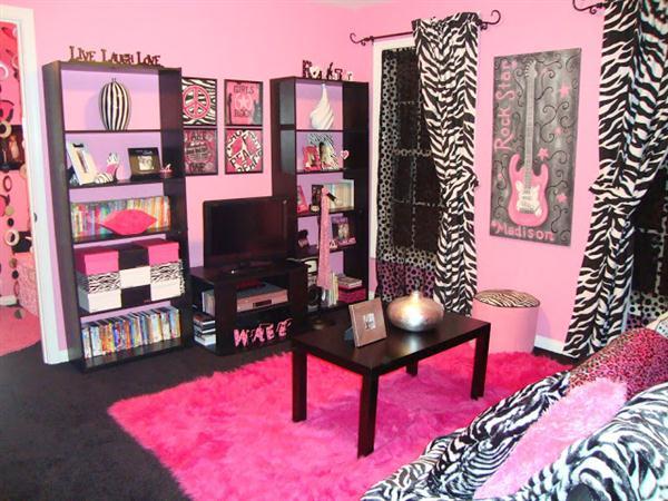 Zebra Print Bedroom Decor
