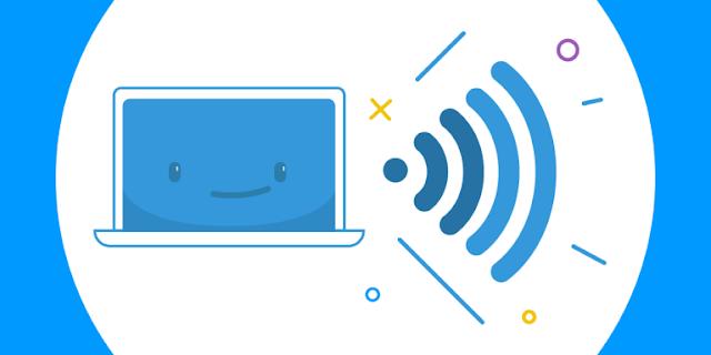 كيفية عمل شبكة WiFi hotspot بدون برامج من الكمبيوتر او الاب توب 👍🏻
