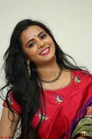 Manasa in Pink Salwar At Fashion Designer Son of Ladies Tailor Press Meet Pics ~  Exclusive 26.JPG