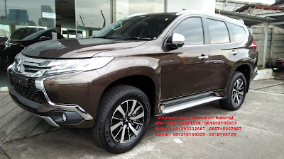 all new pajero sport dakar brown 2019