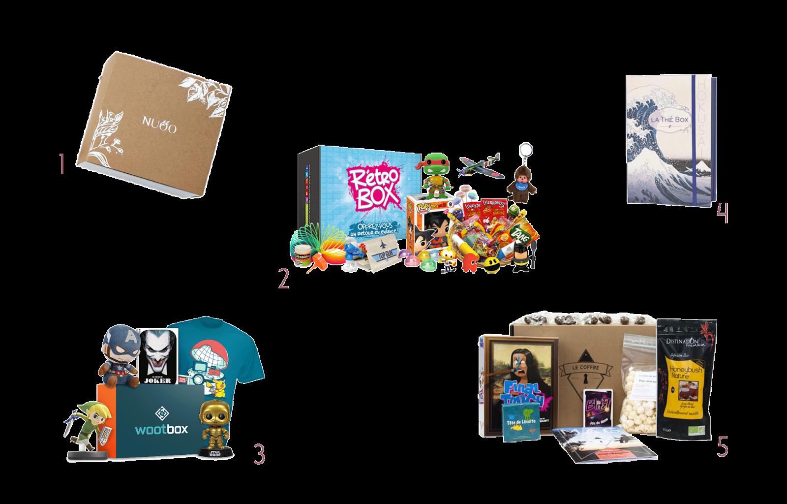 Cadeaux incontournables Noël 2016 box