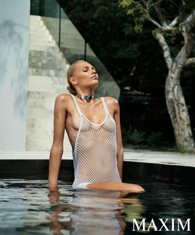 Aline Weber - Maxim photoshoot