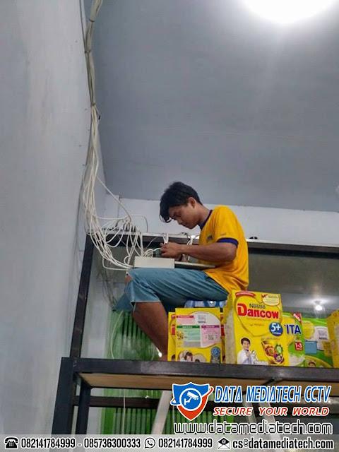 Jasa Pasang Kamera Pengawas CCTV Toko Supermarket