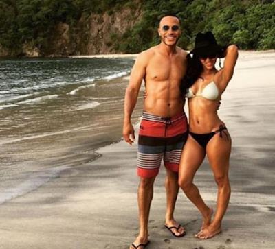 Actress Meagan Good Her Husband Devon Franklin Hot In Beach Photo