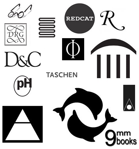 pippa's cabinet: art book publishers' logos