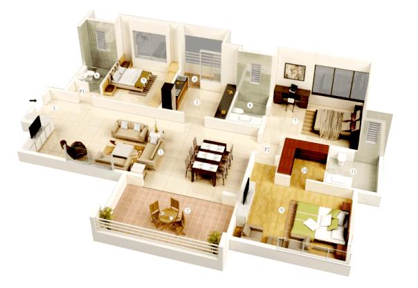 05 Desain Rumah Minimalis 3 Kamar