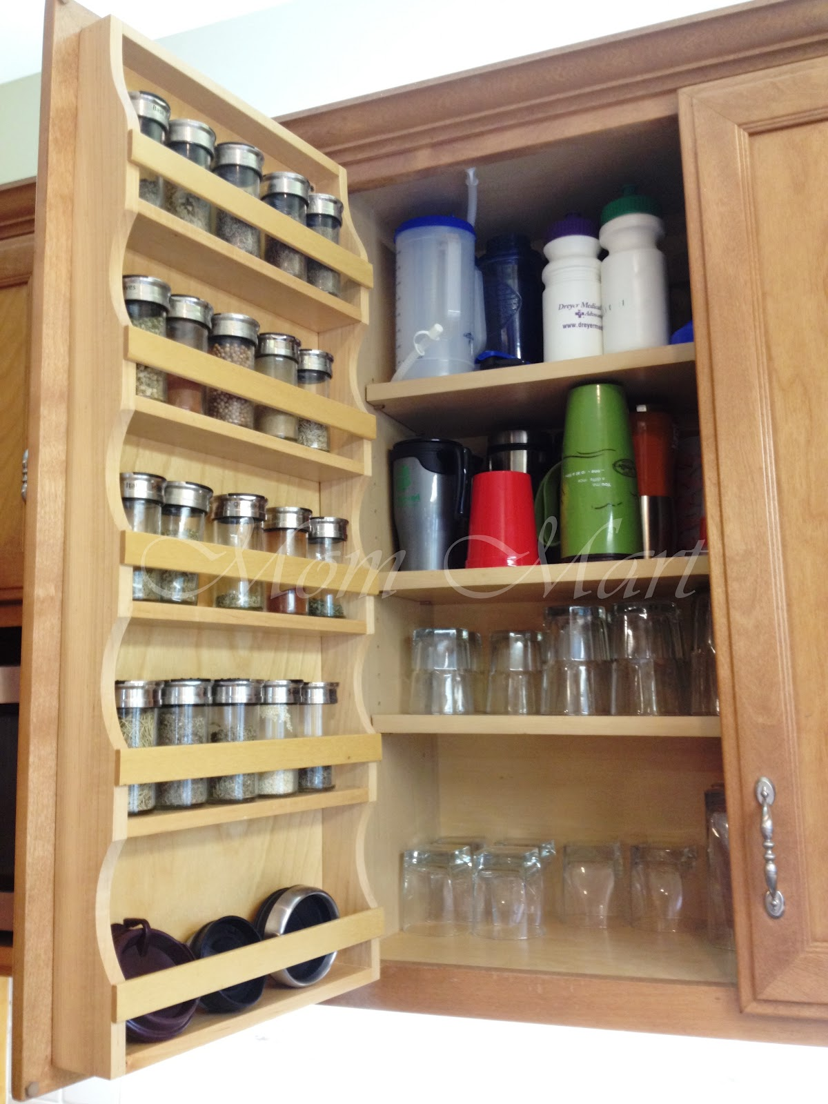 Mom Mart: DIY Kitchen Organization