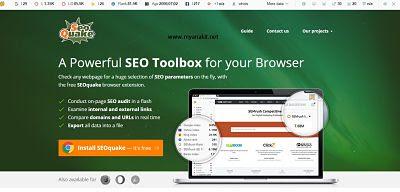seoquake free tools