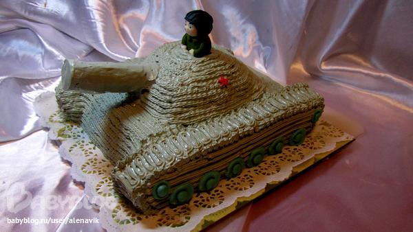 """блюда на 23 февраля, для детей, оформление тортов, торт для мужчины, торт на 23 февраля, торт """"Танк"""", торт военный, блюда военные, торт для мальчика, рецепты мужские, рецепты на День Победы, рецепты армейские, армия, техника, торты для военных, торты """"Транспорт"""", торты армейские, торты на День Победы, рецепты для мужчин, торты праздничные, рецепты праздничные,кремовый торт танк на 23 февраля http://prazdnichnymir.ru/"""