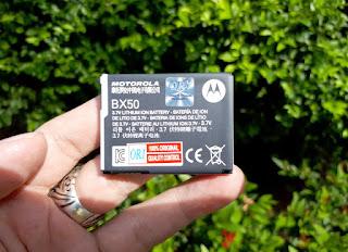 Baterai Motorola BX50 Original