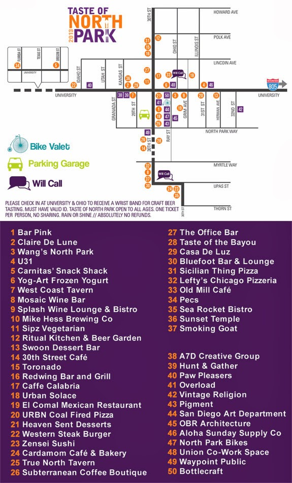 Sandiegoville Sample Over 40 Restaurants And 12 Craft Brews At The